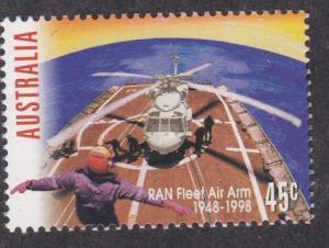 Australia # 1650, Royal Navy  Air Arm 50th Anniversary, NH, 1/2 Cat.