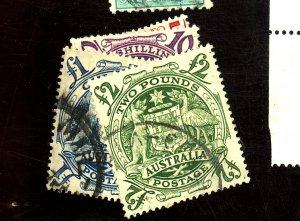 AUSTRALIA #218-221 USED F-VF Cat $37