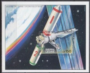 1990 Sierra Leone 1393/B121 Sonde 8,50 €