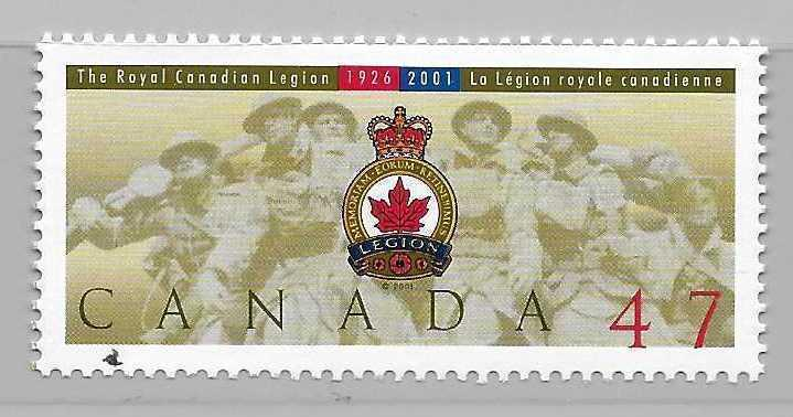 Canada 1926 75th Canadian Legion single MNH