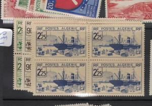 Algeria SC 1426-30 Blocks of Four MNH (4dqg)