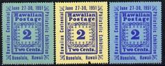 Cinderella - Hawaii 1951 Stamp Centenary Exhibition perf ...