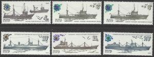 Russia #5157-61 MNH Full Set of 5 + 1 Extra #5158