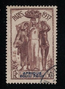 French Equatorial Africa # 30  M  SCV $ 2.40