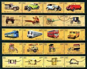 HERRICKSTAMP NEW ISSUES INDIA Transportation (20 Values)