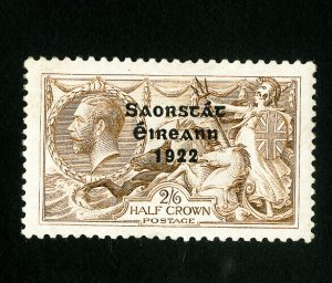 Ireland Stamps # 36 Jumbo OG LH Catalog Value $325.00