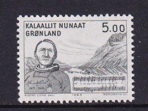 Greenland  #159   MNH  1984  Lund