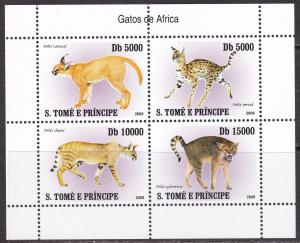 Sao Tome and Principe, Fauna, Animals MNH / 2007