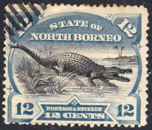 North Borneo Scott 65 Used.