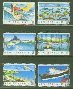 New Zealand Scott 964-9 MH* Heritage stamp set CV $7.40