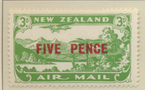 New Zealand Stamp Scott #C4, Mint Hinged - Free U.S. Shipping, Free Worldwide...