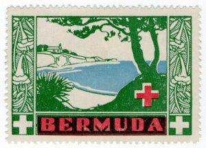 (I.B) Bermuda Cinderella : Red Cross Fund-Raising Stamp