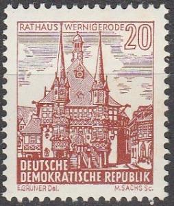 DDR #538  MNH F-VF  (SU7119)