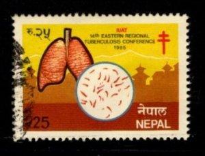 Nepal #435 Tuberculosus Conference - Used