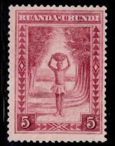 Ruanda-Urundi Scott 37 Mint No Gum MNG