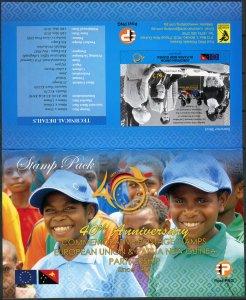 Papua New Guinea 2018. Partnership with the EU (MNH OG. StampPack) Set