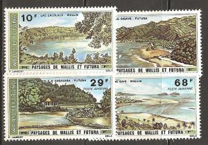 Wallis and Futuna Islands  SC   C65-8  Mint, Never Hinged