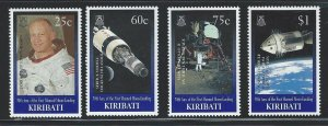 Kiribati mnh  sc. #  746 - 749