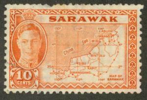 Sarawak 195 Used VF pulled perf