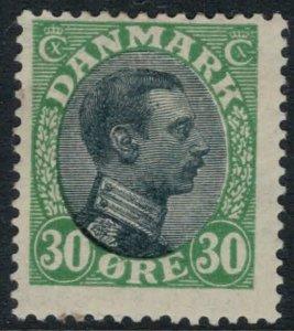 Denmark #111*  CV $35.00