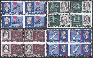 NEW ZEALAND 1969 Capt Cook set MNH block of 4 ACS cat NZ$60.................3300