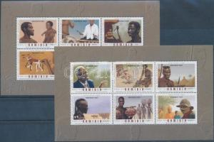 Namibia stamp Traditional occupations block set MNH 2006 Mi 64-65 WS169526