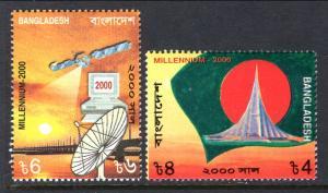 Bangladesh 597-598 MNH VF