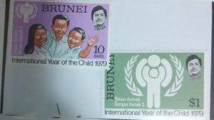 Brunei Scott #238-9*nh  (1975)