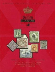 British Empire Specialized, Shreves Philatelic Galleries, N.Y.C., June 27, 2003