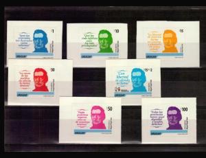 URUGUAY 2012 DEFFINITIVE STAMPS ARTIGAS MILITARY HERO SC #2462-67 + #B14
