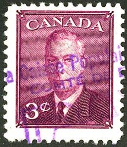 CANADA #291 USED