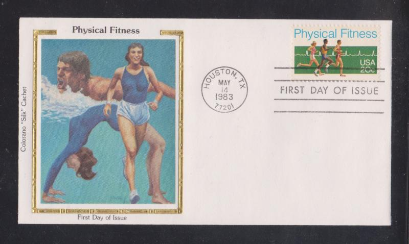 1983 Physical Fitness - COLORANO FDC - Unaddressed