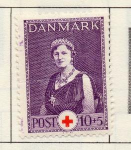 Denmark 1934-53 Early Issue Fine Mint Hinged 10ore. 221201
