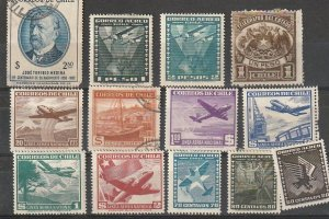Chile Mint OGH & Used lot#190812-1