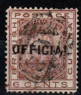 British Guiana #O9 F-VF Used CV $725.00 (X636)