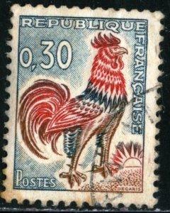 FRANCE #1024B , USED - 1965 - FRAN238AFF8