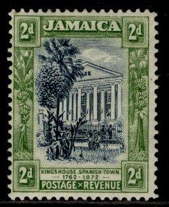 JAMAICA GV SG97, 2d indigo & green, M MINT.