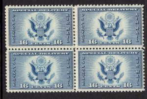 US Stamp #CE1 Block of 4 MINT NH SCV $3.60