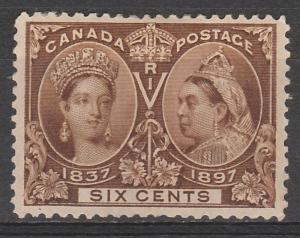 CANADA 1897 QV JUBILEE 6C