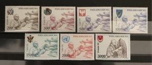 Vatican City 1980, #C66-72, MNH, CV $9.50