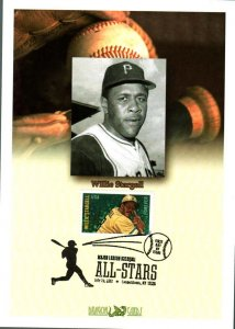 Dragon Cards by Lloyd A. de Vries 4696 Pittsburgh Pirate Willie Stargel