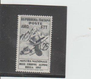 Trieste  Scott#  154  MH  (1952 Overprinted)