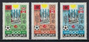 URUGUAY #C395-97 MINT, VF, NH - PRICED AT 1/2 CATALOG!