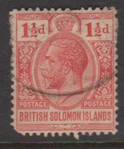 British Solomon Islands Sc#23 Used