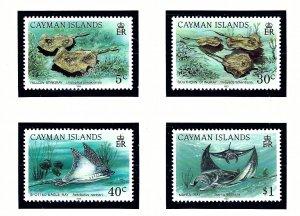 Cayman Is 662-65 MNH 1993 Rays   (KA)