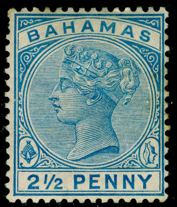 BAHAMAS SG50, 2½d dull blue, M MINT. Cat £85.