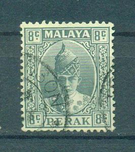Malaya - Perak sc# 89 (2) used cat value $.25