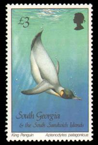 SOUTH GEORGIA #109-123 COMPLETE SET MINT NEVER HINGED