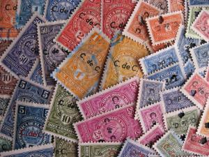 EL SALVADOR Revenues 52 different, an interesting group of old revenues!