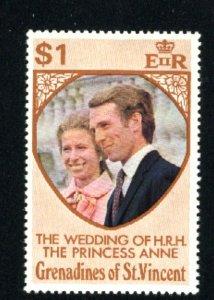 St. Vincent Grenadines #2   Mint,NH VF 1973 PD